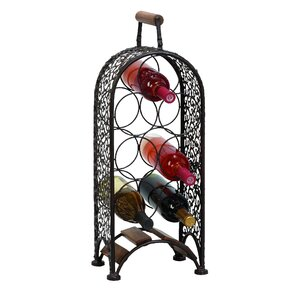 7 Bottle Tabletop Wine Rack by Woodland Imports