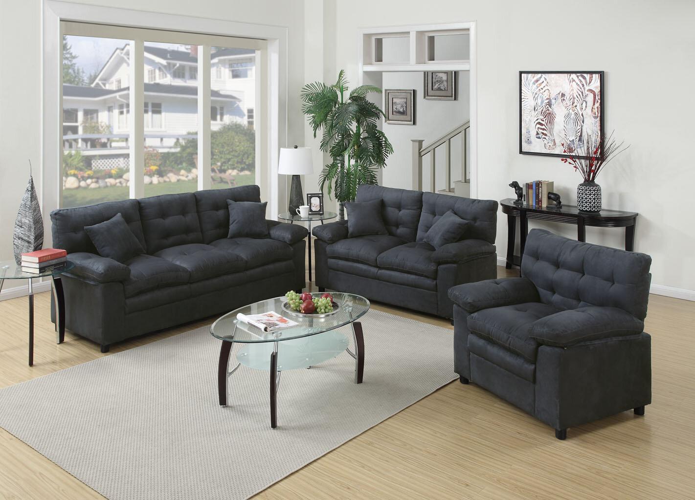 Kingston 3 Piece Living Room Set