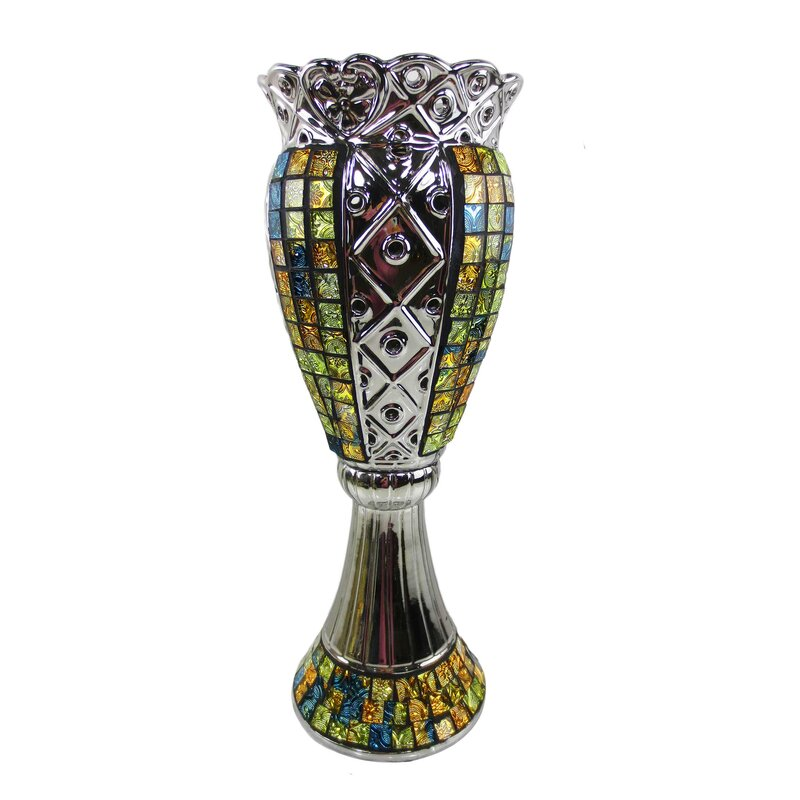 Dolce Mela Tall Decorative Vase Wayfair