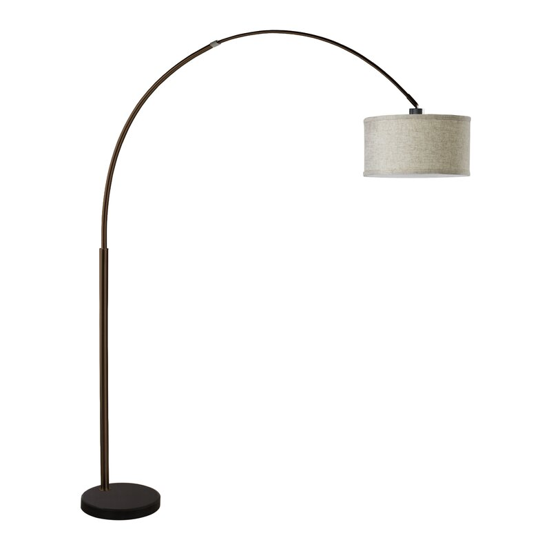 Langley street maui 81 arched floor lamp reviews wayfair maui 81 arched floor lamp mozeypictures Choice Image