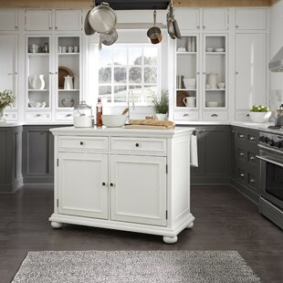 Rochford Kitchen Island with Granite Top