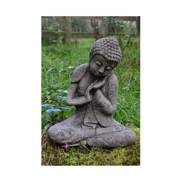 Superbe Garden Ornaments By Onefold Resting Welsh Buddha Stone Garden Statue U0026  Reviews | Wayfair.co.uk