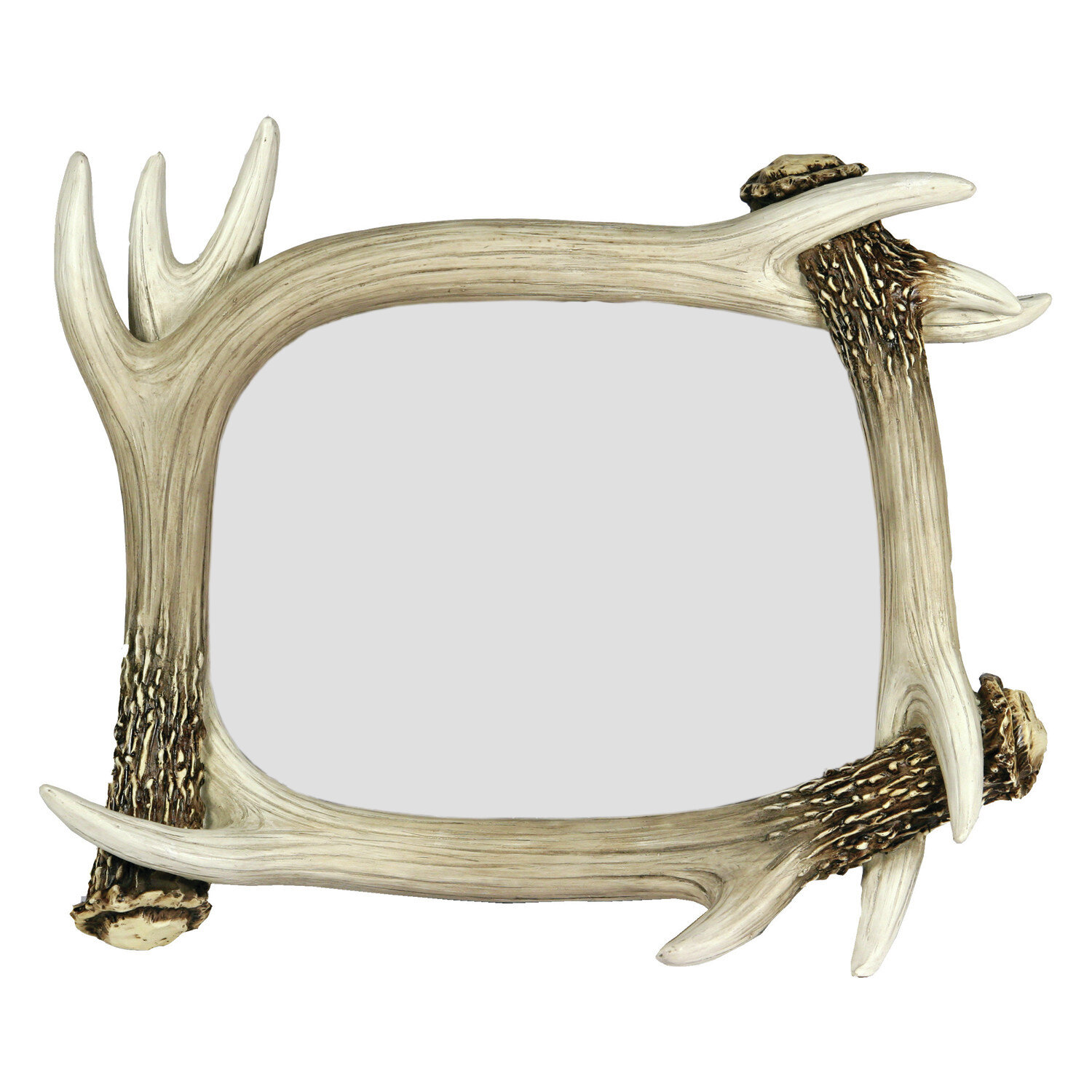 River\'s Edge Products Deer Antler Picture Frame | Wayfair