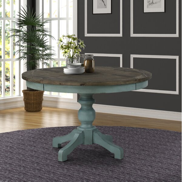 Admirable Two Toned Dining Table Wayfair Ca Download Free Architecture Designs Estepponolmadebymaigaardcom