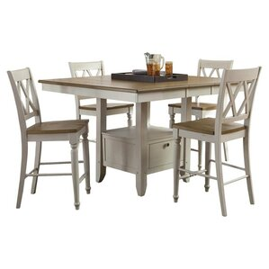 Diana 5 Piece Counter Height Dining Set by Liberty Furniture