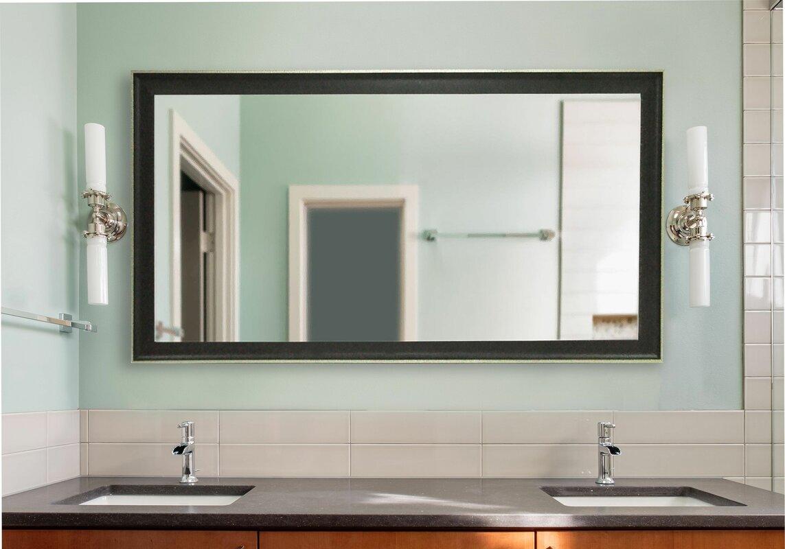 Charlton Home Kimzey Vintage Bathroom Mirror & Reviews | Wayfair