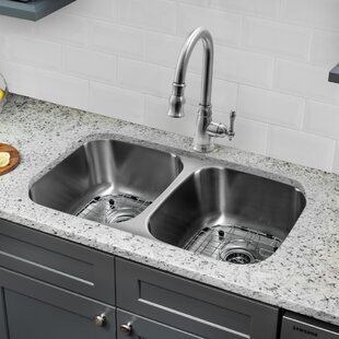 Double Basin Kitchen Sinks You'll | Wayfair on
