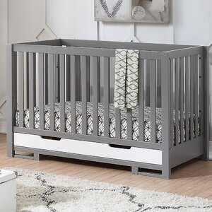 Lanoue 3-in-1 Convertible Crib