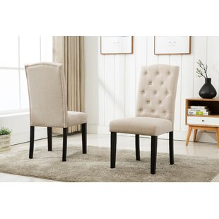 Cendrillon Upholstered Dining Chair (Set of 2)