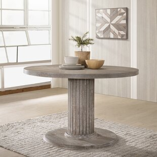 Maxon Wood Pedestal Dining Table