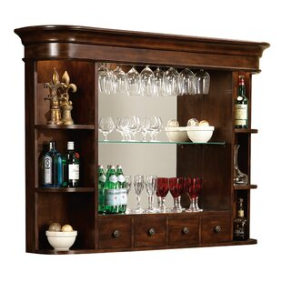Merveilleux Brewton Hutch Rustic Wall Bar