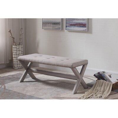 Charlton Home Vanslyke Upholstered Bedroom Bench | Wayfair