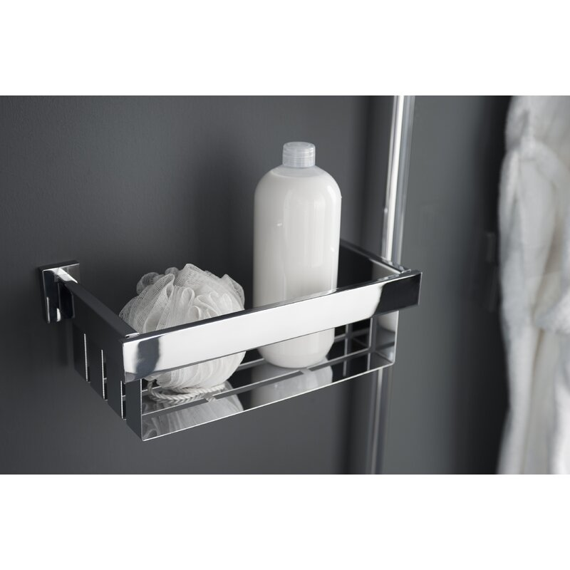 Haceka Edge Metal Wall Mounted Shower Caddy Amp Reviews