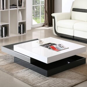 Mcfarland Swivel Coffee Table by Wade Logan