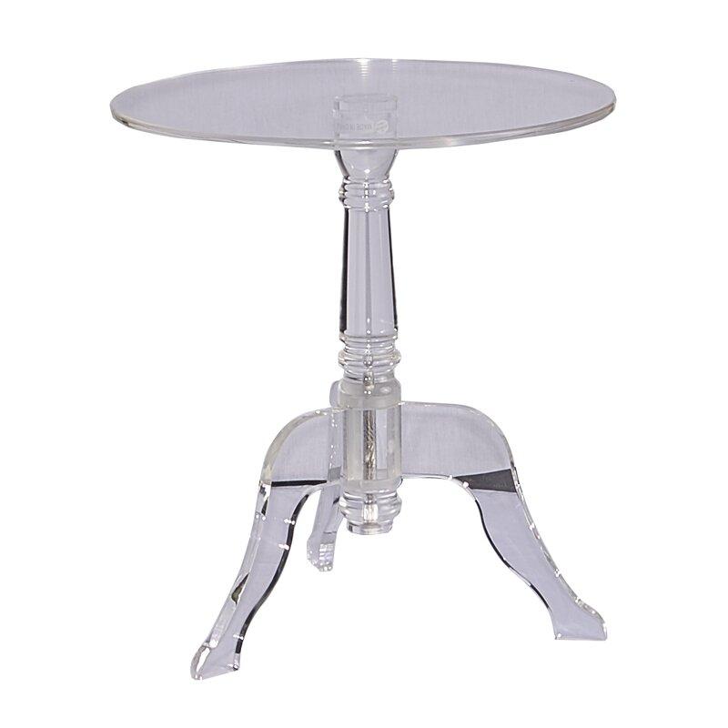 Gentil Acrylic End Table