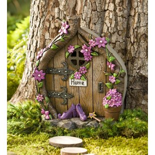 Shoes Door Fairy Garden & Fairy Door | Wayfair