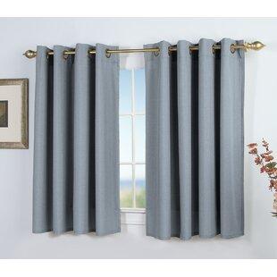 Short Bedroom Window Curtains | Wayfair