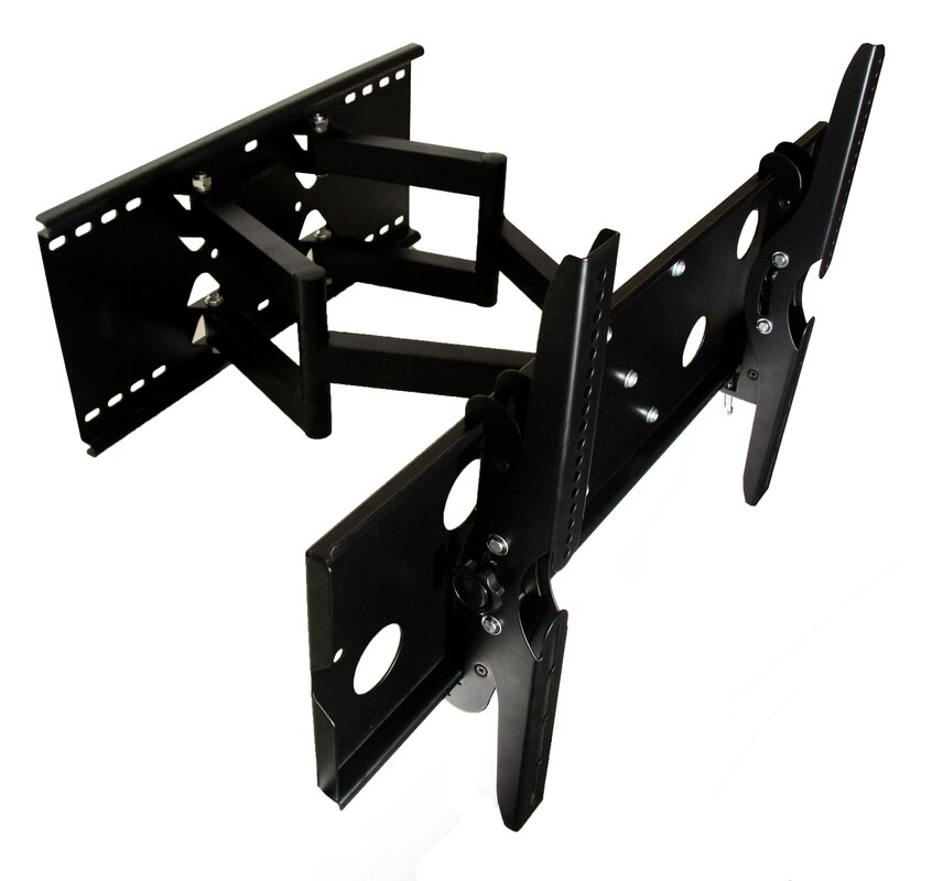 "Tv Wall Mounts mount it dual arm articulating tv wall mount for 32"" - 60"" lcd/led"