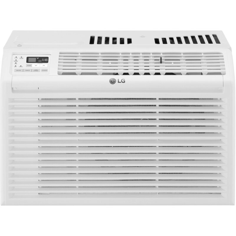 Lg 6 000 btu energy star window air conditioner with for 20 000 btu window air conditioner