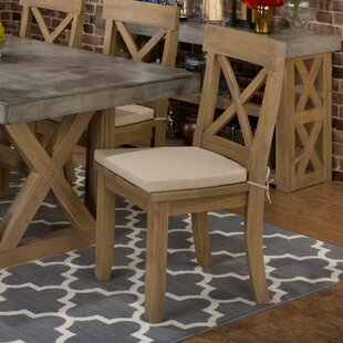 Alemany Solid Wood Dining Chair (Set of 2)