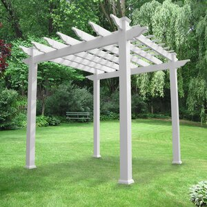 Royal 7.3 Ft. W x 7.3 Ft. D Vinyl Pergola