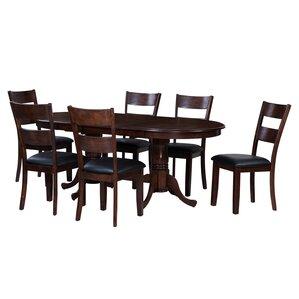 Princeton 7 Piece Dining Set by TTP Furnish