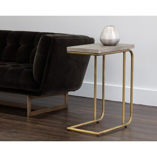 Solterra C Shaped End Table