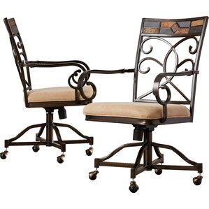 Zamudio Arm Chairs (Set of 2) by World Menagerie