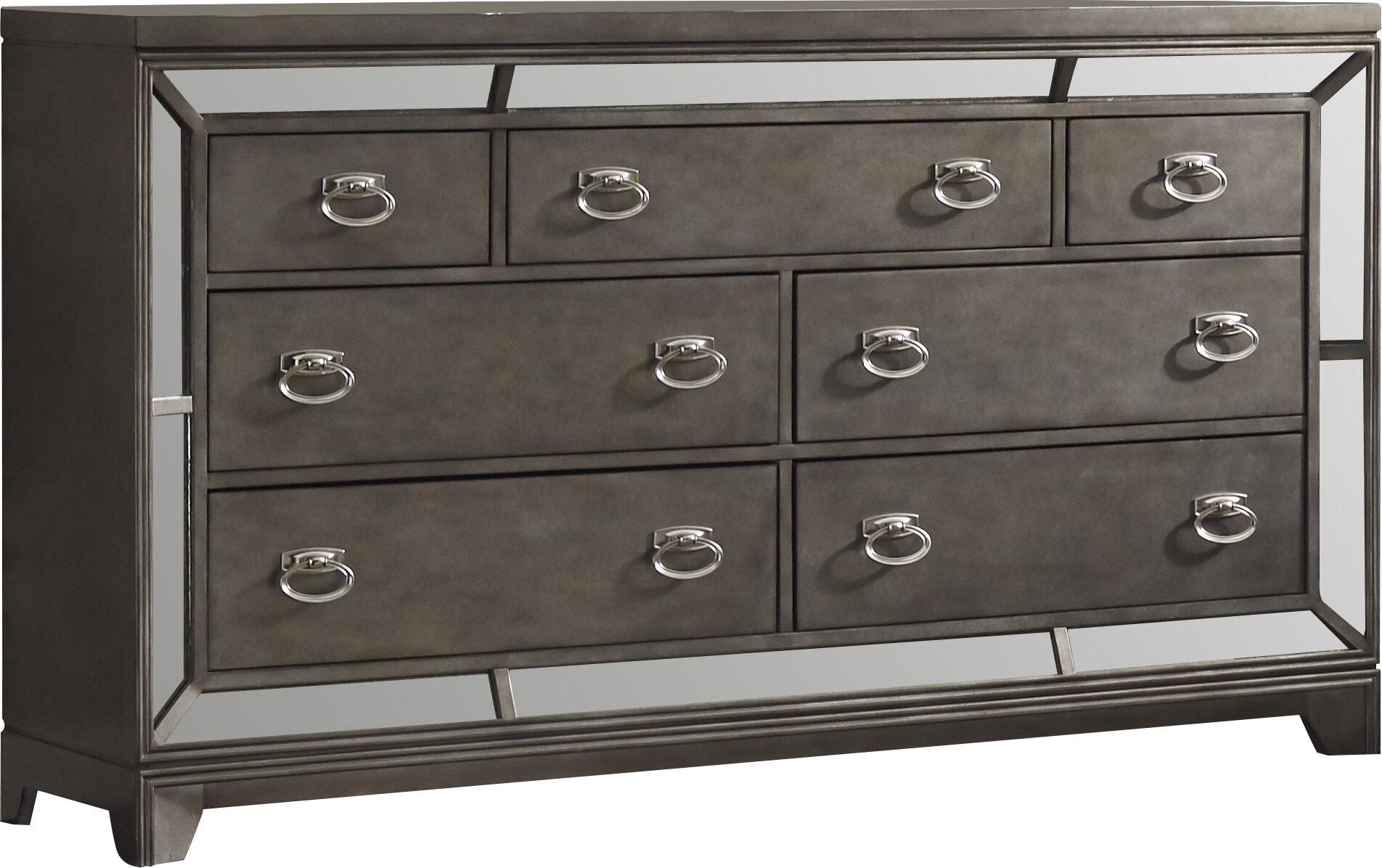 bbb668fa41 Roxie 7 Drawer Dresser & Reviews | Joss & Main