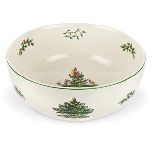 Christmas Tree Serving Bowl by Spode