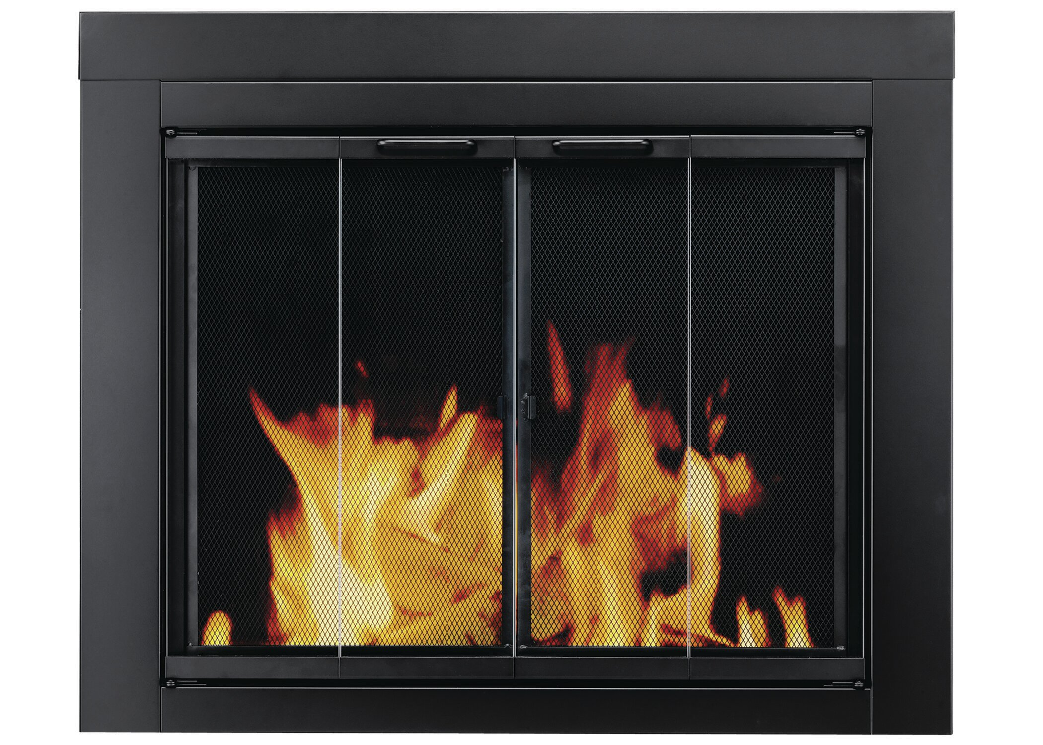 Pleasant Hearth Ascot Bifold Style Steel Fireplace Doors Reviews