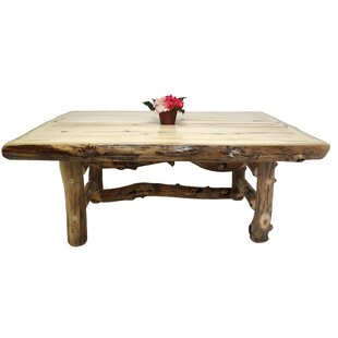 Aspen Grizzly Solid Wood Dining Table