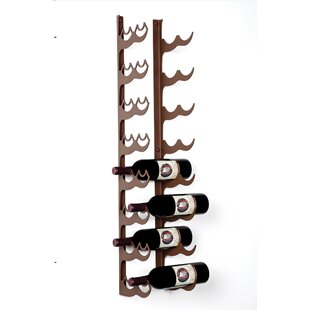Irving Place 16 Bottle Wall Mounted Wine Rack