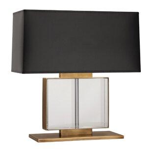Brass Table Lamp Black Shade Wayfair