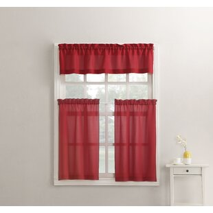 Delicieux Red Poppy Kitchen Curtains | Wayfair