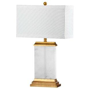 Hanging bedside lamps wayfair roder alabaster 255 bedside table lamp aloadofball Images