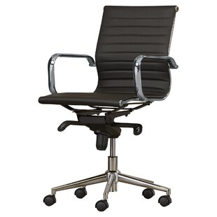modern desk chair. Annabell Mid-Back Desk Chair Modern Desk Chair