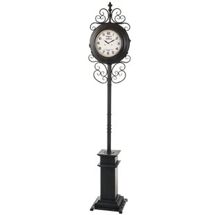 Ophelia Co Knupp 75 5 Floor Clock Wayfair