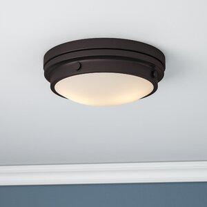 Aralene 2-Light Flush Mount & Daily Sales | Wayfair azcodes.com