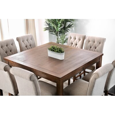 square dining room table seats 8 | 8 + Seat Square Kitchen & Dining Tables You'll Love | Wayfair