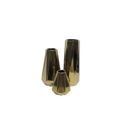 CosmoLiving by Cosmopolitan 3 Piece Table Vase Set