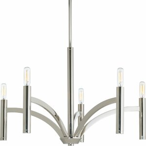Manasi 5-Light Candle-Style Chandelier