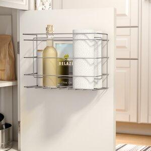 Mullinax Double Compartment Kitchen Cabinet Door Organizer
