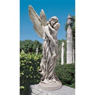 Heavenu0027s Guardian Angel Garden Statue. By Design Toscano