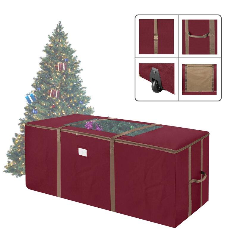 Rebrilliant Rolling Christmas Tree Storage Bag Reviews Wayfair Ca