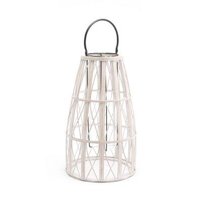 "Web Bamboo Lantern Coaster Nj-08810-2516 Size: 26"" H X 12.2"" W X 12.2"" D"