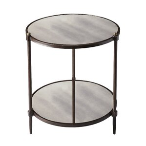 Metalworks End Table by Bu..