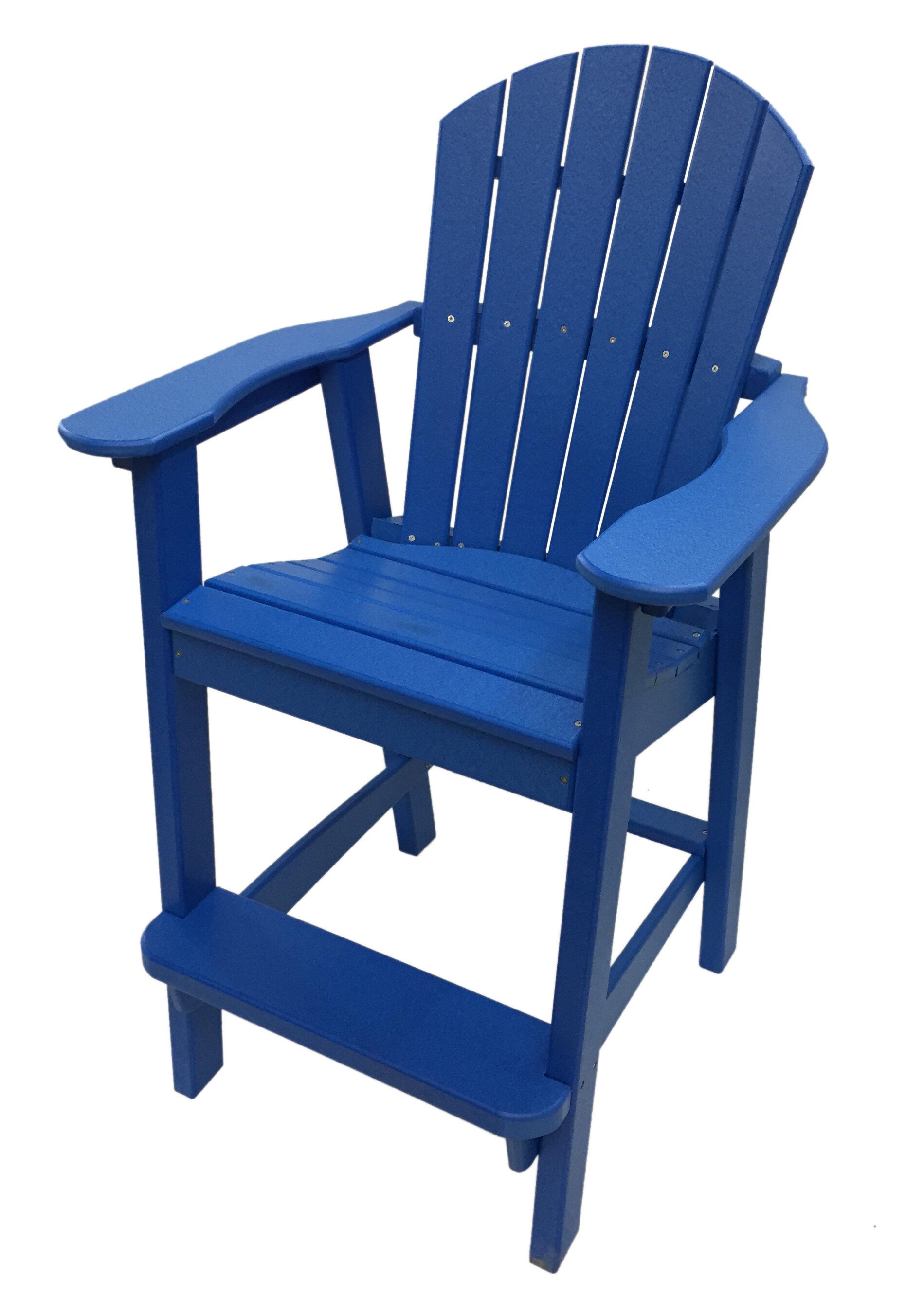Ers Choice Phat Tommy Balcony Plastic Adirondack Chair Reviews Wayfair