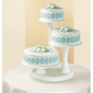 3 tier chandelier cake stand wayfair 3 tier cake stand aloadofball Choice Image