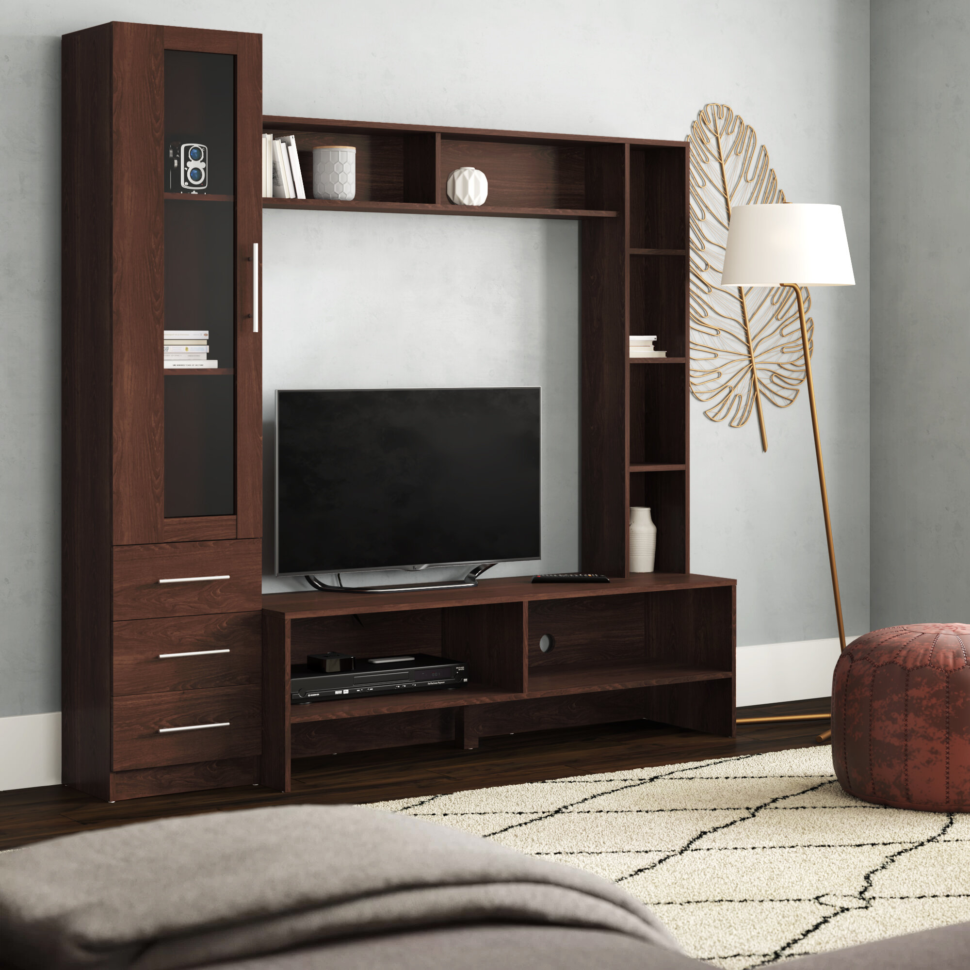 Ebern designs uppingham entertainment center for tvs up to 50 reviews wayfair